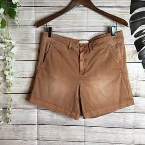 Anthropologie chino shorts size 27